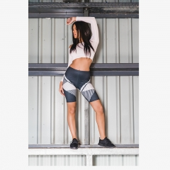 Riding shorts geometric