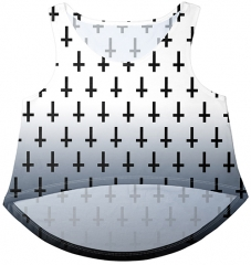 top Unholy cross White