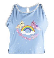 Pajamas vest kitticorn
