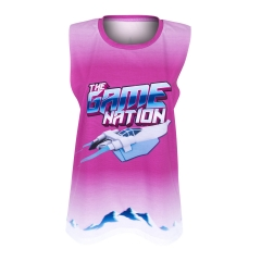 Open sleeve top THE GAME NATION