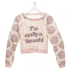 Short hoodie REALLY MERMAID