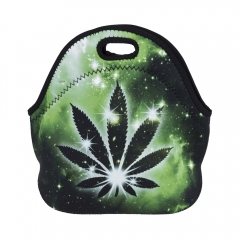 lunch bag GALAXY GREEN MARIJUANA