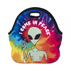 lunch bag I COME IN PEACE