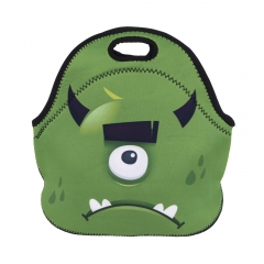 lunch bag GREEN MONSTER