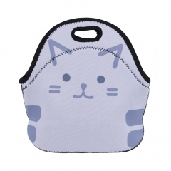 lunch bag SIMPLE GRAY KITTY