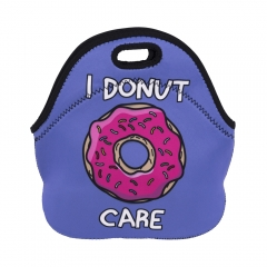 lunch bag I DONUT CARE PURPLE