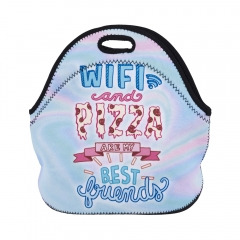lunch bag WIFI AND PIZZA BF