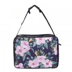 bag tropical pink flower