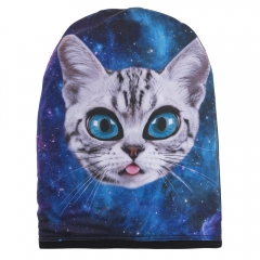 beanie galaxy alien cat