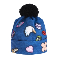 Beanie jeans patch