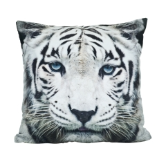 Pillow white tiger