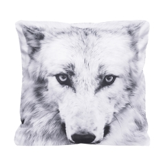 Pillow white wolf