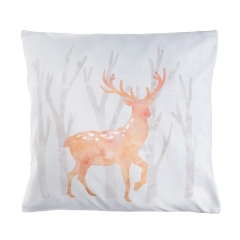 Pillow watercolor deer
