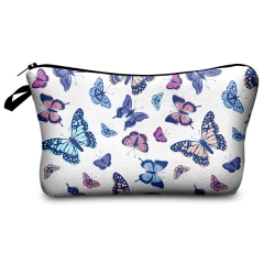 makeup bag butterfly