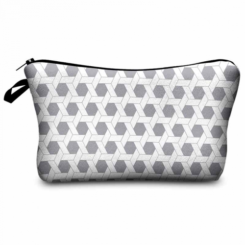 Makeup bag hexagon