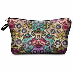 Makeup bag mexican skull