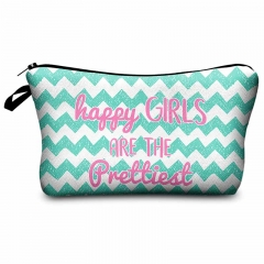 Makeup bag wave pattern
