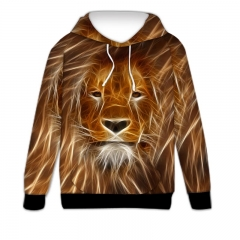 Sweatshirt  a male lion