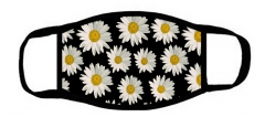 One layer mask  with edge little Daisies