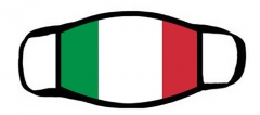 One layer mask  with edge Italian flag